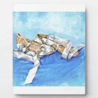 A Pair of Ballet Shoes Plaque