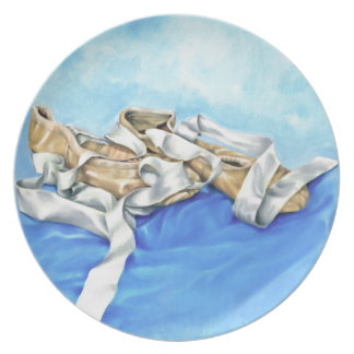 A Pair of Ballet Shoes Plate