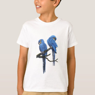 A pair of bright blue Hyacinth Macaws T-Shirt