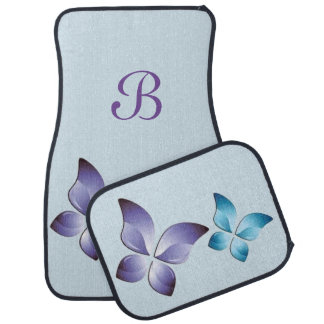 A Pair of Butterflies Car Mat