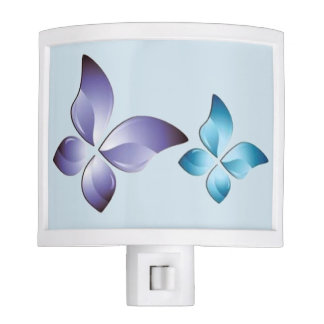 A Pair of Butterflies Night Light