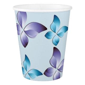 A Pair of Butterflies Paper Cup
