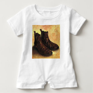 A Pair of Chelsea Boots Baby Romper