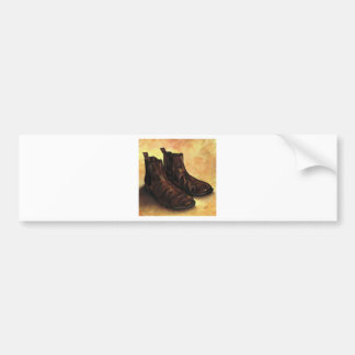 A Pair of Chelsea Boots Bumper Sticker