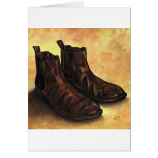 A Pair of Chelsea Boots Card