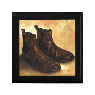 A Pair of Chelsea Boots Keepsake Box