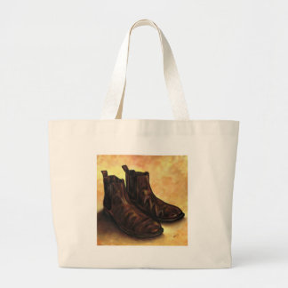 A Pair of Chelsea Boots Large Tote Bag
