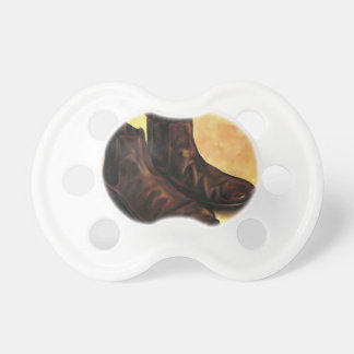 A Pair of Chelsea Boots Pacifier