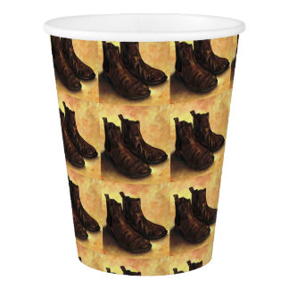 A Pair of Chelsea Boots Paper Cup