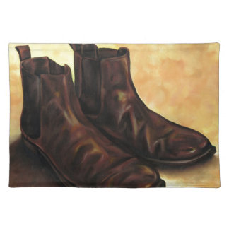 A Pair of Chelsea Boots Placemat