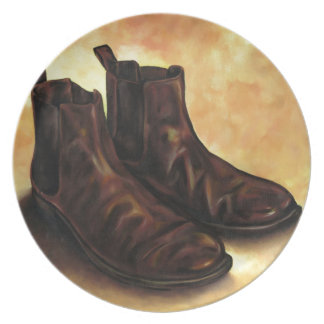 A Pair of Chelsea Boots Plate
