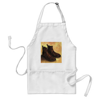 A Pair of Chelsea Boots Standard Apron