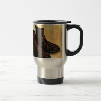 A Pair of Chelsea Boots Travel Mug