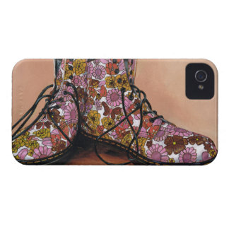 A Pair of Favourite Floral Boots iPhone 4 Cover
