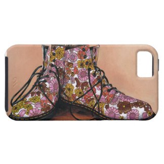 A Pair of Favourite Floral Boots iPhone 5 Cover