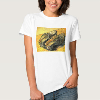 A Pair of Leather Clogs by Vincent van Gogh T Shirts