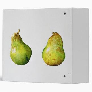 A Pair of Pears 1997 Vinyl Binders