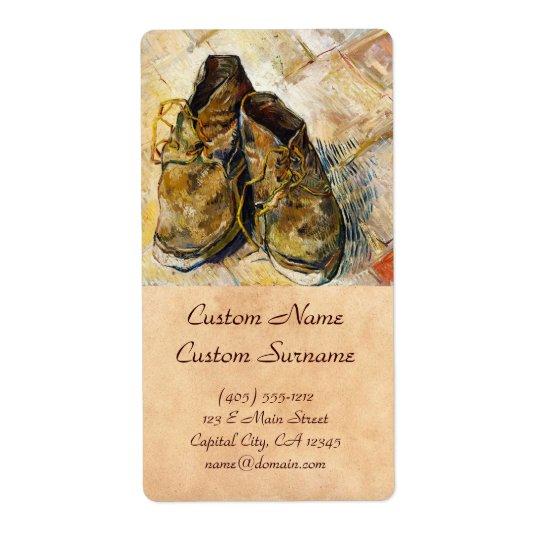 A Pair of Shoes Vincent van Gogh fine art painting