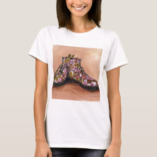 A Pair of Treasured Flowery Boots T-Shirt