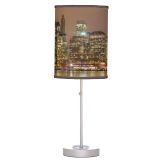 A panorama of the New York City skyline Desk Lamps