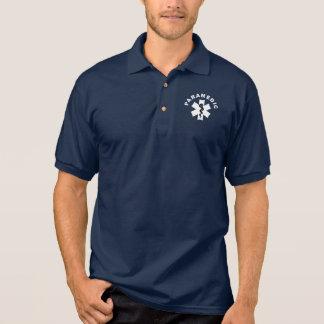 A Paramedic Theme Polo Shirt