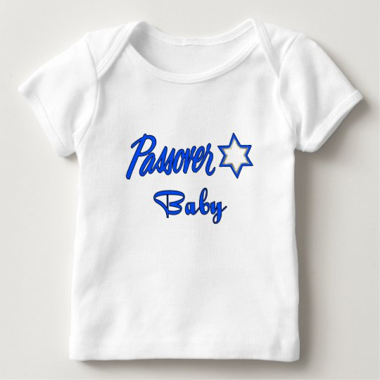 A Passover Baby Blue Baby T-Shirt