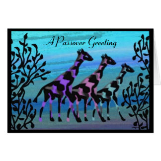 A Passover Greeting Card