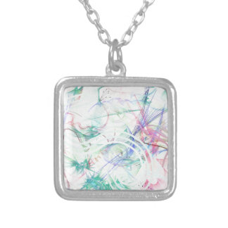 A Pastel Garden Silver Plated Necklace