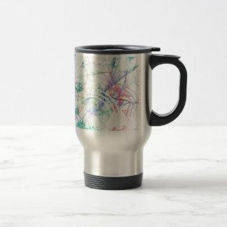 A Pastel Garden Travel Mug