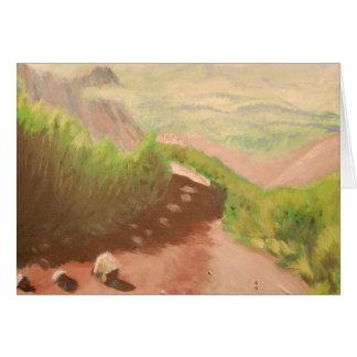A Path On Mt.Diablo Card