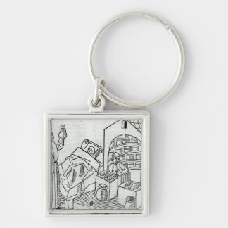 A patient with a Doctor and a Pharmacist Keychain