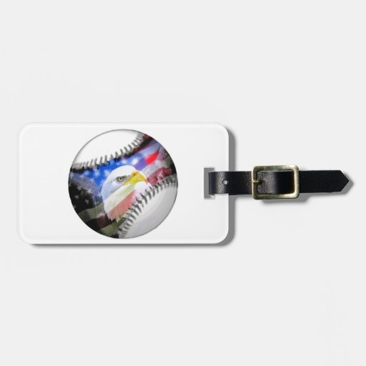A Patriotic Ball. Tag For Bags