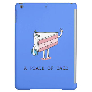 A peace of cake iPad air cover