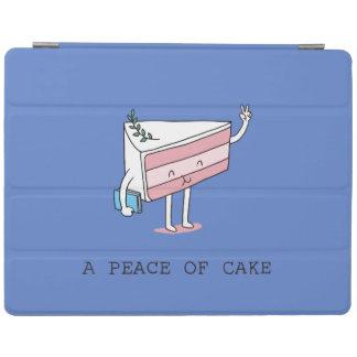 A peace of cake iPad cover