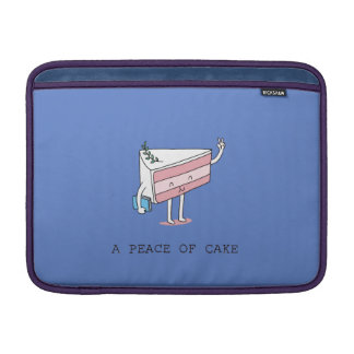 A peace of cake sleeve for MacBook air