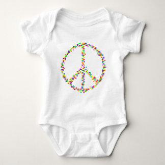 A Peace of Retro Baby Bodysuit