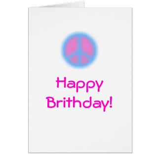 A Peaceful Birthday Card