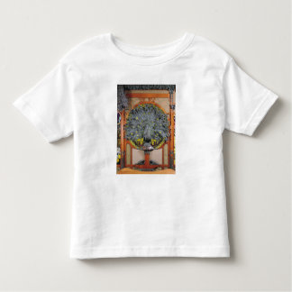 A peacock from the central panel of a mural tshirts