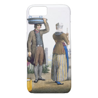 A Peasant Couple of Parmerend, North Holland, illu iPhone 7 Case