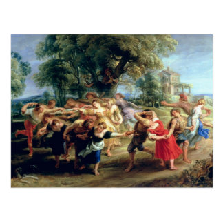 A Peasant Dance, 1636-40 Post Card