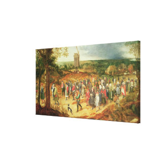 A Peasant Wedding Canvas Print