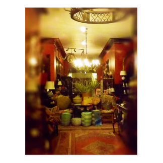 A Peek Inside Webster House Kansas City Postcard