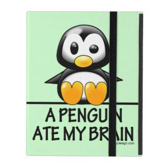 A Penguin Ate My Brain iPad Case