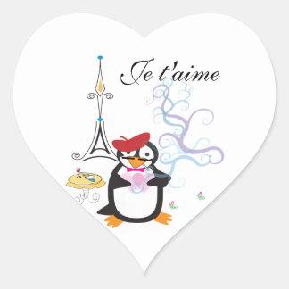 A Penguin in Paris Sticker