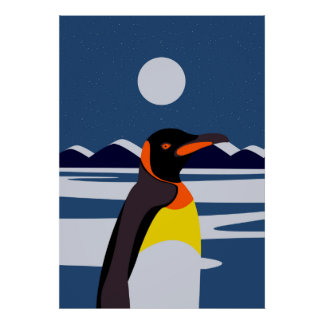 A Penguin ' s country Poster