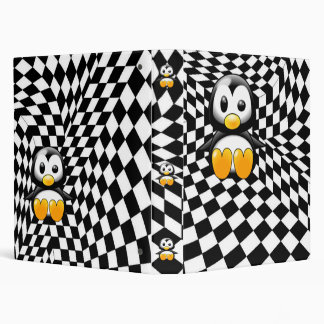 A Penguin's Checkered Nightmare Binder