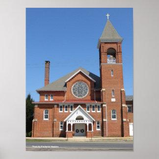 A Pennsylvania Presbyterian Church Poster