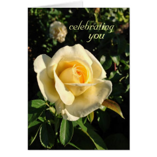 A Perfect Birthday Rose Greeting Card