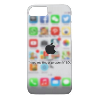 A perfect case for a perfect iphone user.