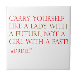 A perfect gift for a lady! tile